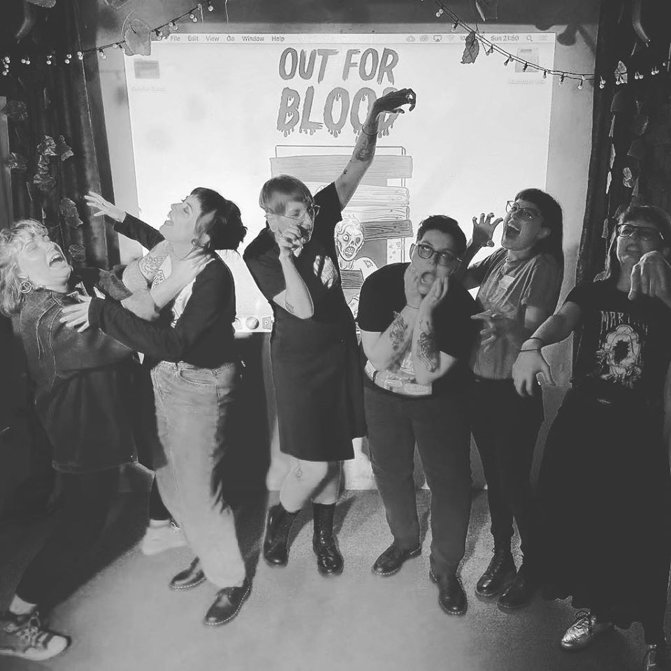 'The Queer Coven' aka some of the people behind OFB